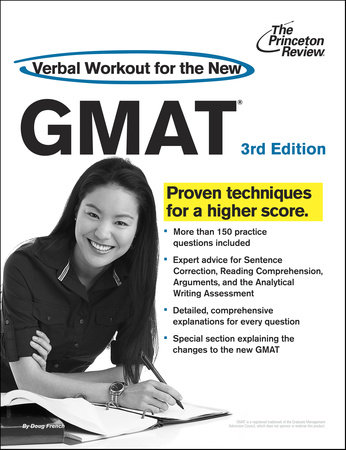 Verbal Workout for the New GMAT, 3rd Edition by