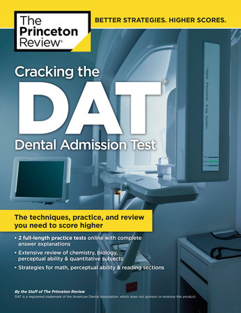 Cracking the DAT (Dental Admission Test) by