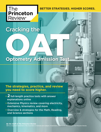 Cracking the OAT (Optometry Admission Test) by