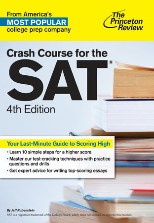 Crash Course for the SAT, 4th Edition by Princeton Review