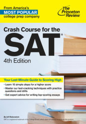 Crash Course for the SAT, 4th Edition