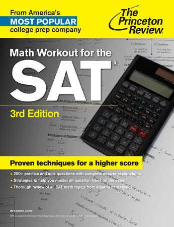Math Workout for the SAT by Princeton Review