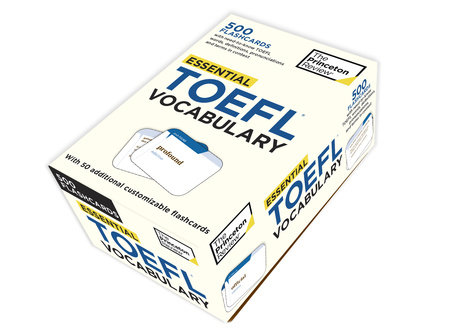 Essential TOEFL Vocabulary (flashcards) by Princeton Review