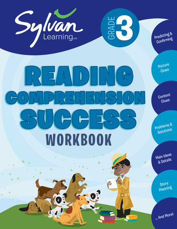 Third Grade Reading Comprehension Success (Sylvan Workbooks) by