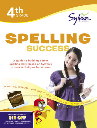 Fourth Grade Spelling Success (Sylvan Workbooks) by