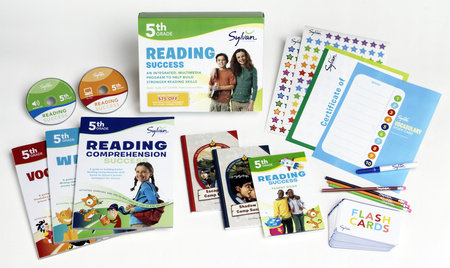 Fifth Grade Reading Success: Complete Learning Kit by Sylvan Learning