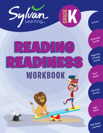 Kindergarten Reading Readiness (Sylvan Workbooks) by Sylvan Learning