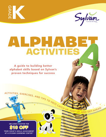 Kindergarten Alphabet Activities (Sylvan Workbooks) by