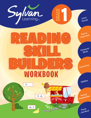 First Grade Reading Skill Builders (Sylvan Workbooks) by Sylvan Learning
