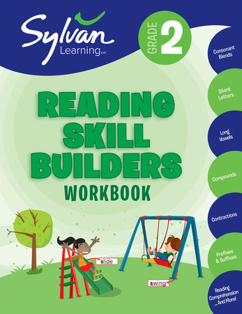 Second Grade Reading Skill Builders (Sylvan Workbooks) by