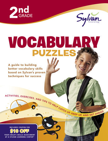 Second Grade Vocabulary Puzzles (Sylvan Workbooks) by Sylvan Learning