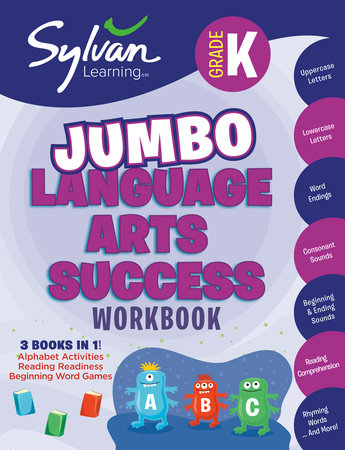 Kindergarten Language Arts Success (Sylvan Super Workbooks) by Sylvan Learning