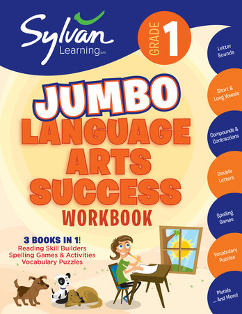 First Grade Language Arts Success (Sylvan Super Workbooks) by Sylvan Learning