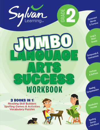 Second Grade Language Arts Success (Sylvan Super Workbooks) by Sylvan Learning