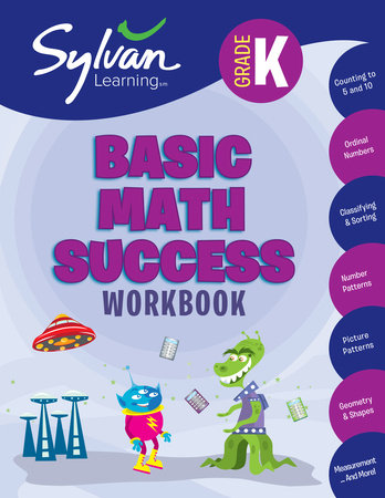 Kindergarten Basic Math Success (Sylvan Workbooks) by Sylvan Learning
