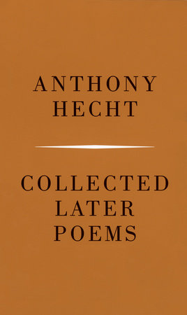 Collected Later Poems by