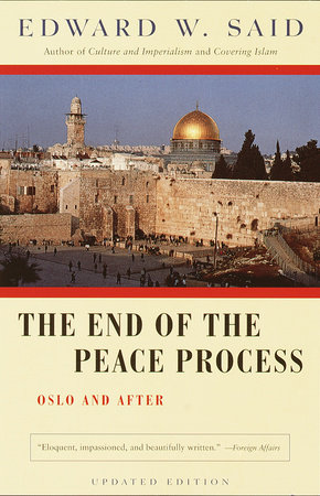 The End of the Peace Process by
