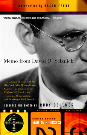 Memo from David O. Selznick by