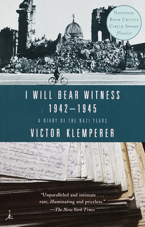 I Will Bear Witness by