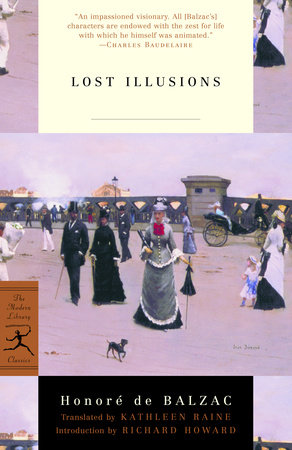 Lost Illusions by Honore De Balzac