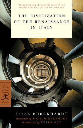 The Civilization of the Renaissance in Italy by