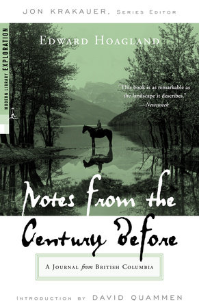 Notes from The Century Before book cover