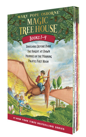 Magic Tree House Volumes 1-4 Boxed Set by