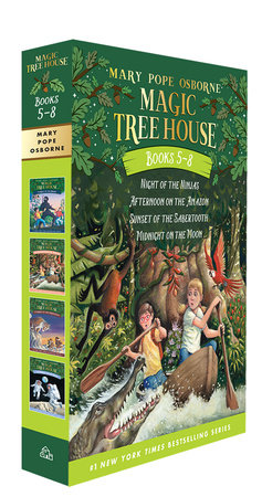 Magic Tree House Volumes 5-8 Boxed Set by