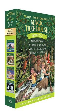 Magic Tree House Volumes 5-8 Boxed Set by Mary Pope Osborne