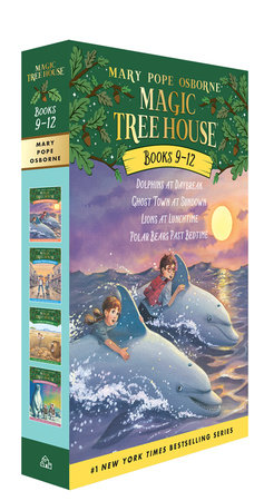 Magic Tree House Volumes 9-12 Boxed Set by Mary Pope Osborne