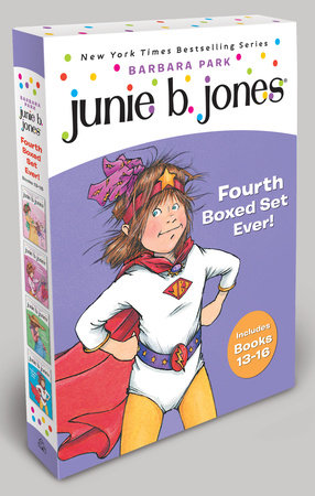 Junie B. Jones's Fourth Boxed Set Ever! by
