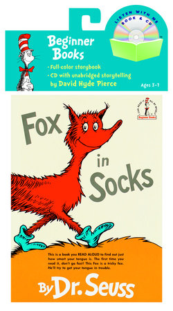 Fox in Socks Book & CD by Dr. Seuss