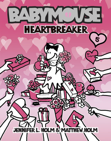 Babymouse #5: Heartbreaker by Matthew Holm and Jennifer L. Holm