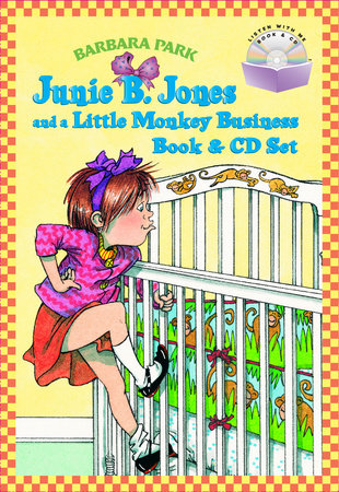 Junie B. Jones and a Little Monkey Business Book & CD Set by Barbara Park