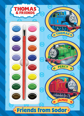 Friends from Sodor (Thomas & Friends) by Golden Books
