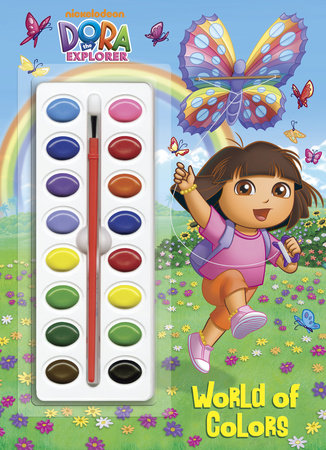 World of Colors (Dora the Explorer) by Golden Books