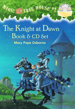 Magic Tree House #2: The Knight at Dawn Book & CD Set by