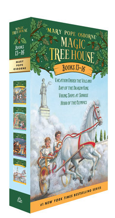 Magic Tree House Volumes 13-16 Boxed Set by