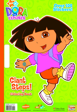 Giant Steps! (Dora the Explorer) by Golden Books