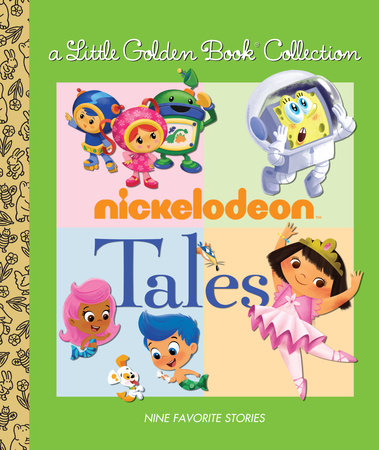 Nickelodeon Little Golden Book Collection (Nickelodeon) by