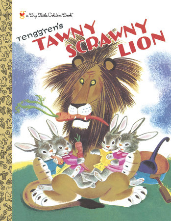 Tawny Scrawny Lion (Personalized Book) by