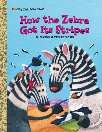 How the Zebra Got Its Stripes (Personalized Book) by Ron Fontes and Justine Fontes