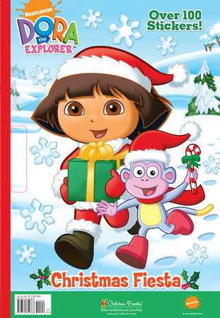 Christmas Fiesta (Dora the Explorer) by Golden Books
