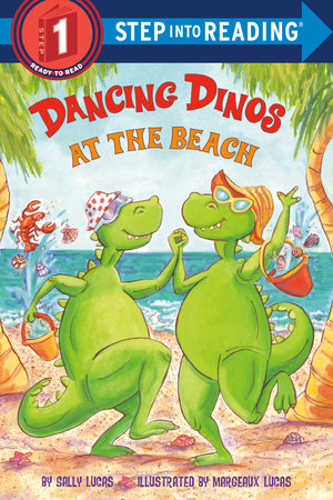 Dancing Dinos at the Beach by