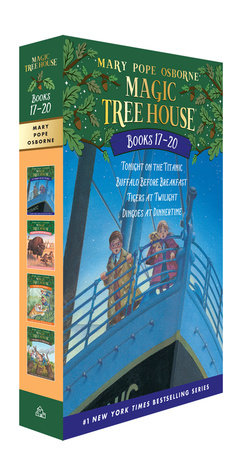 Magic Tree House Volumes 17-20 Boxed Set by Mary Pope Osborne