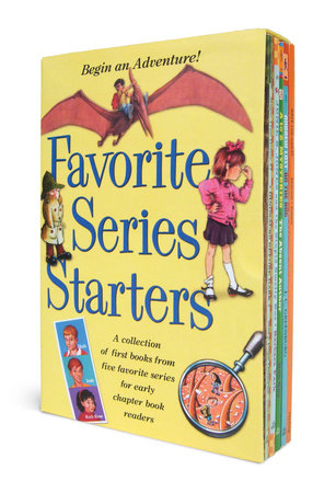 Favorite Series Starters Boxed Set by J.C. Greenburg, Mary Pope Osborne, Barbara Park, Ron Roy and Marjorie Weinman Sharmat