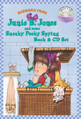 Junie B. Jones and Some Sneaky Peeky Spying Book & CD Set by