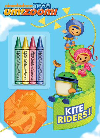 Kite Riders! (Team Umizoomi) by Golden Books