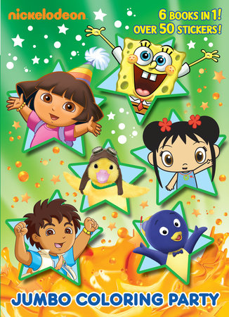 Jumbo Coloring Party (Nick Jr.) by