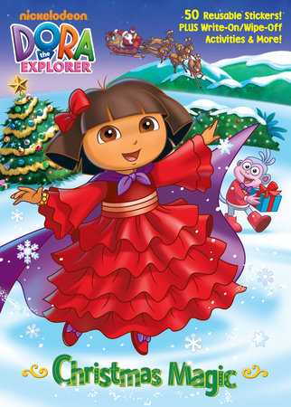 Christmas Magic (Dora the Explorer) by Golden Books